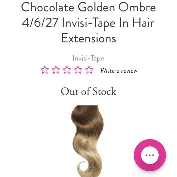 Glam Seamless Accessories Ombr Tapein Hair Extensions Poshmark